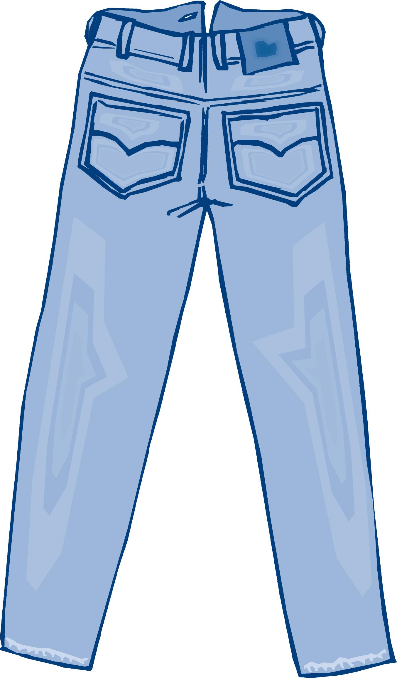 Clipart pants blue jean. El jeans hombre de