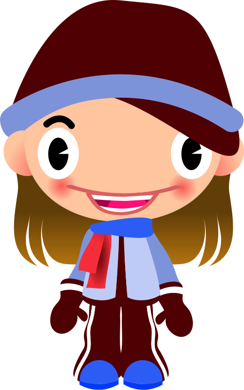 Free clip art talking. Clipart sports character