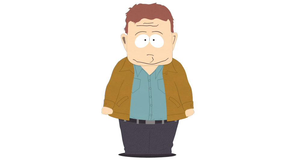 Father clipart standing alone. Officer barbrady official south