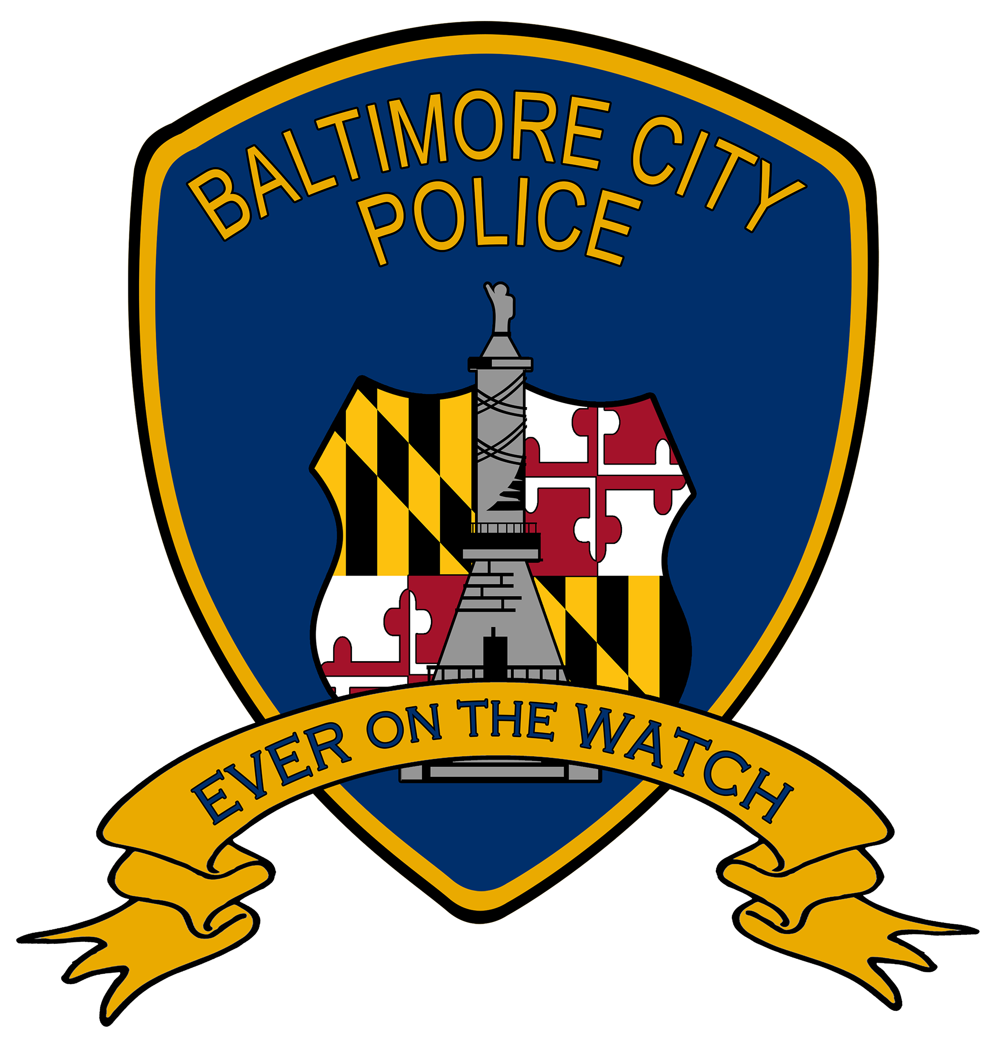 Baltimore city history . Clipart hospital police station