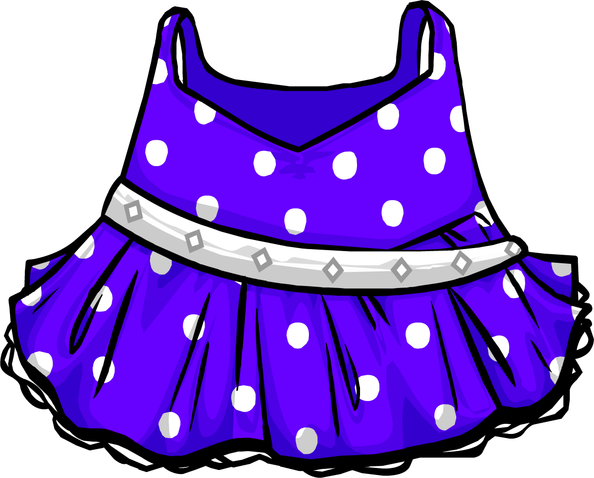 Image polka dress png. Dot clipart purple