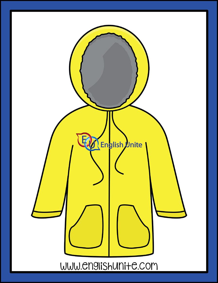 Clothes rain . Jacket clipart waterproof jacket