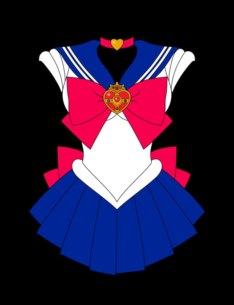 Mgu moon fuku rd. Clothes clipart sailor