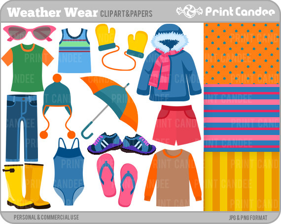 Clothing clipart cool clothes. Free weather cliparts download