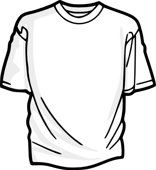 T clip art at. Clipart clothes shirt