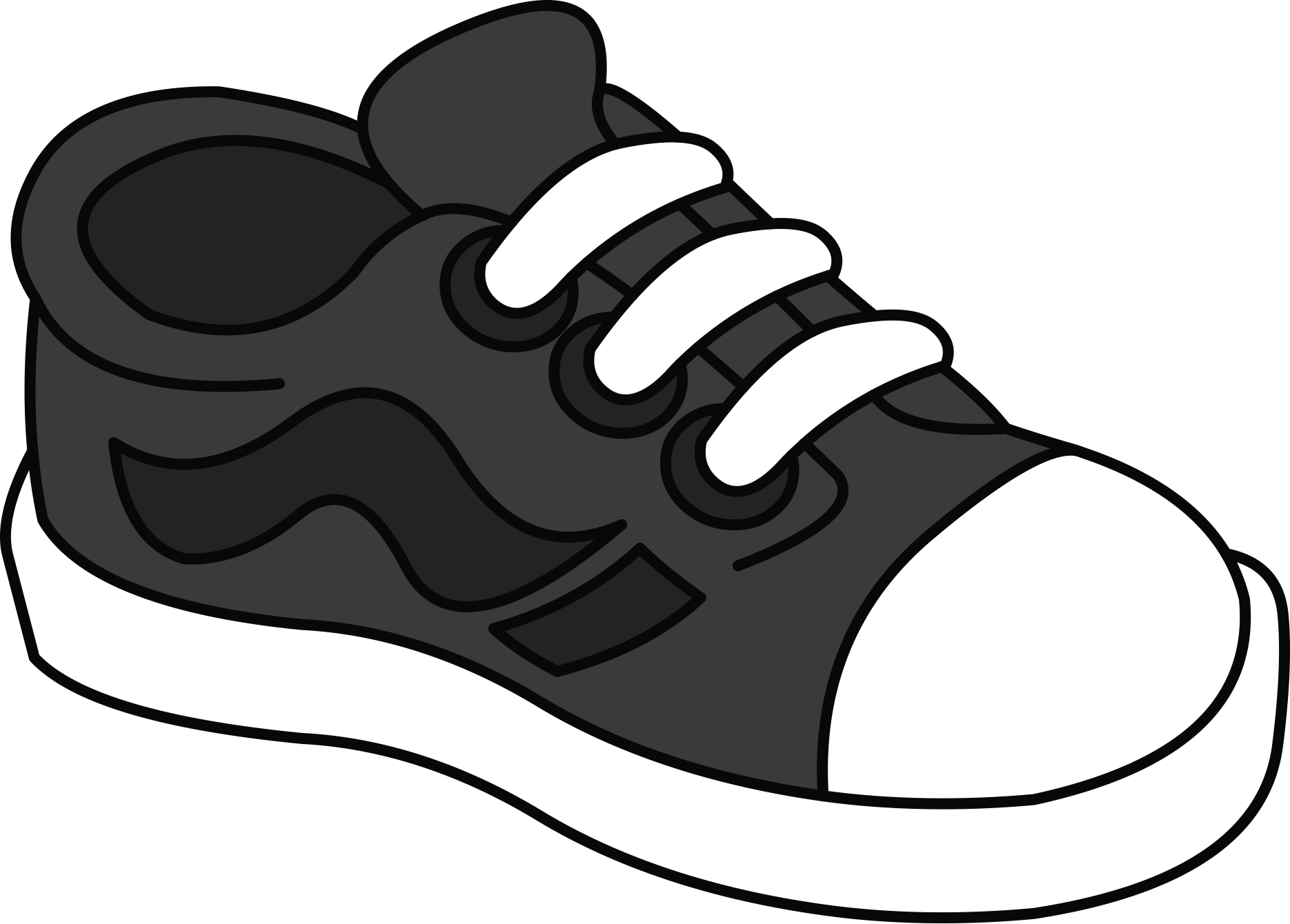 tenis school pinterest. Converse clipart shoesclip