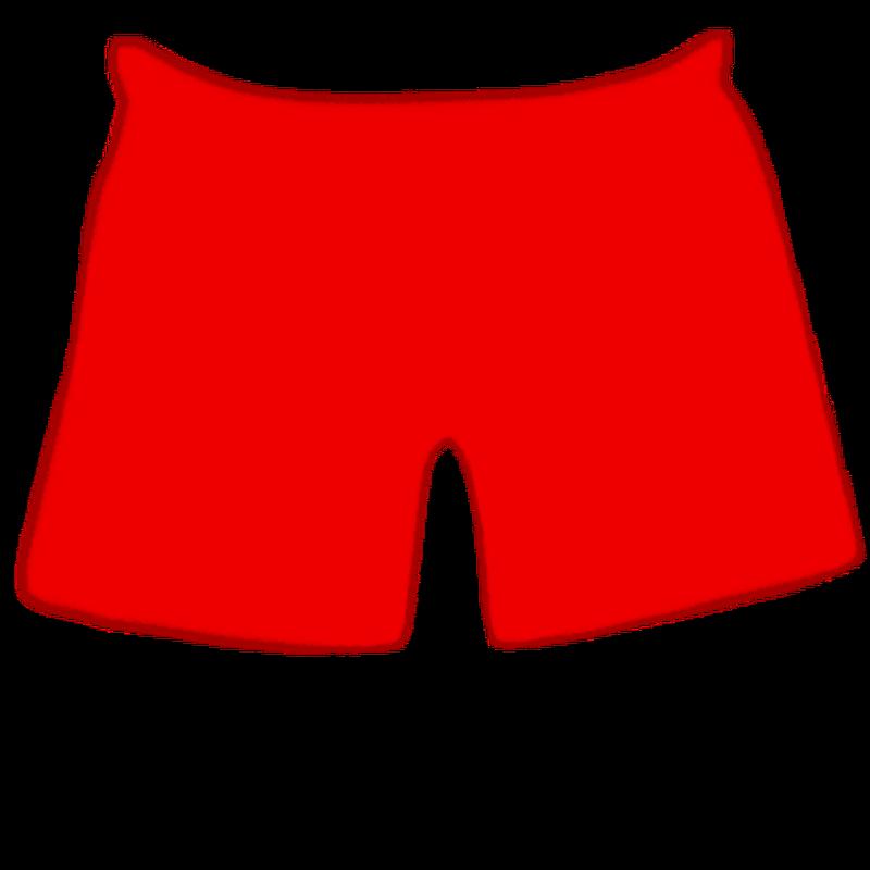Mini city stylist app. Clothes clipart shorts
