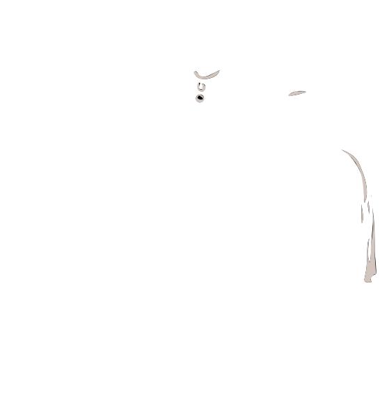 Dress clipart silhouette. White clip art at