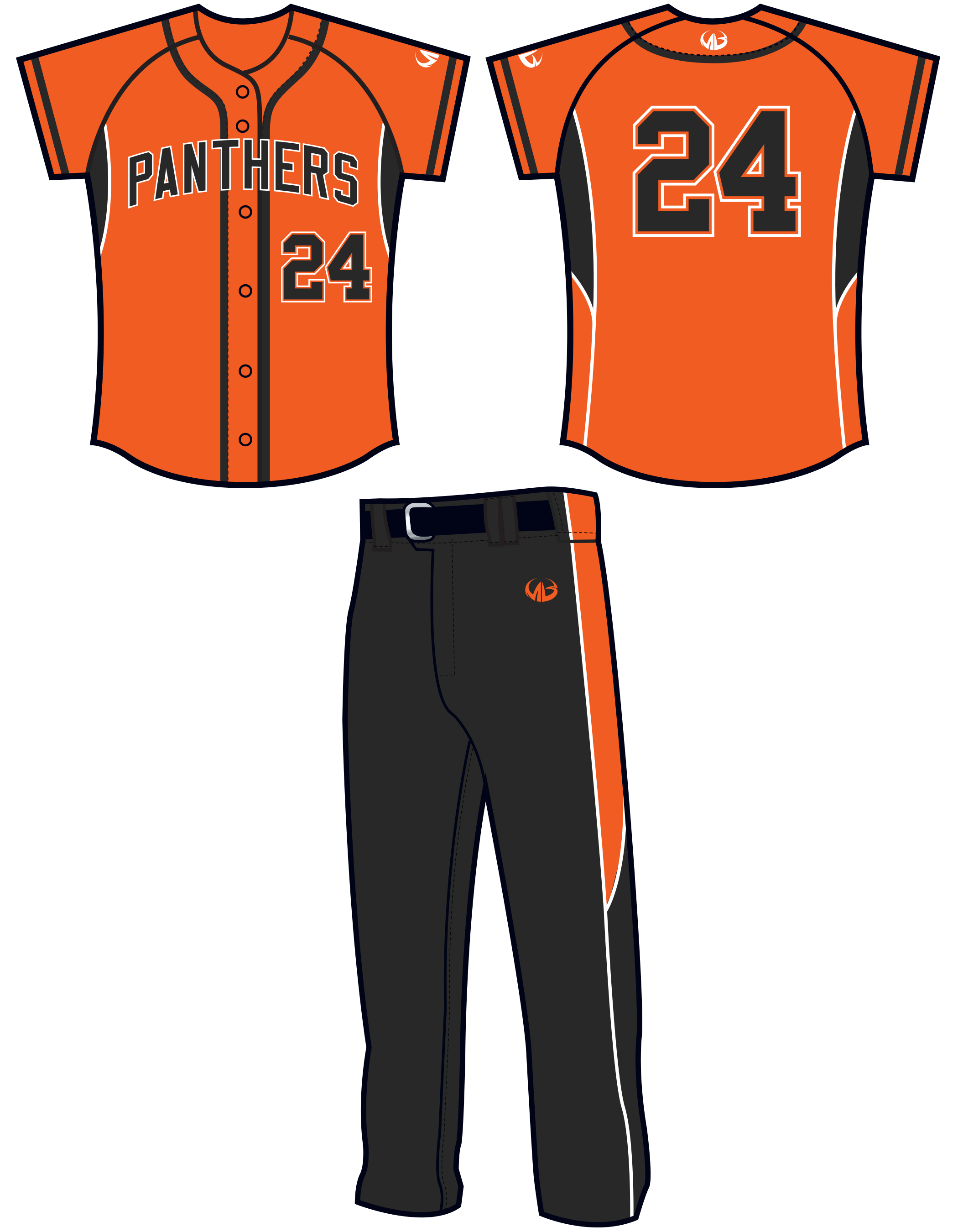 Custom softball uniforms team. Clothing clipart sportswear