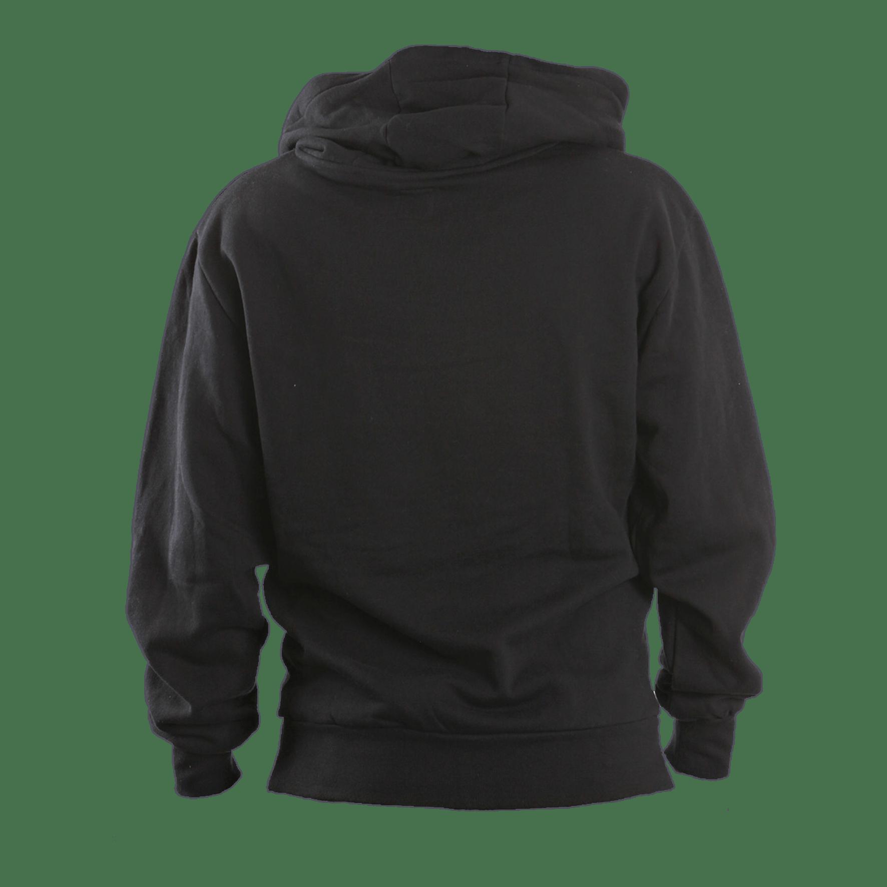 Black png transparent stickpng. Hoodie clipart sweatsuit