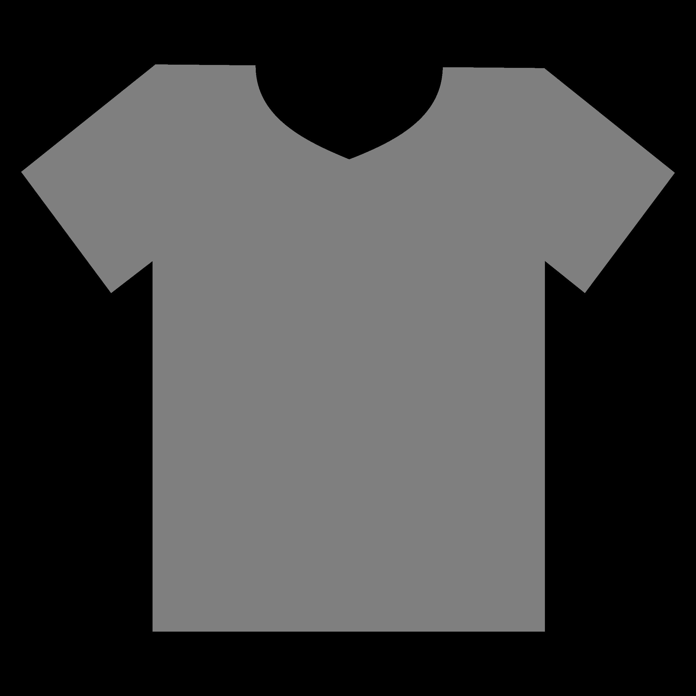 Shirt shirt outline