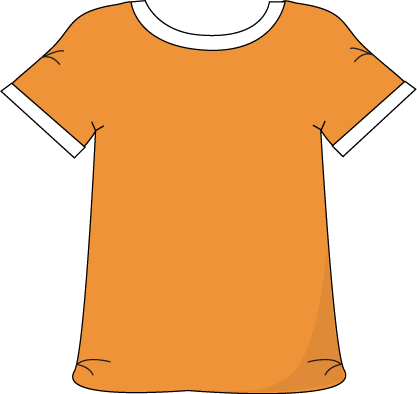 Clothing clipart shirt. Free clip art download