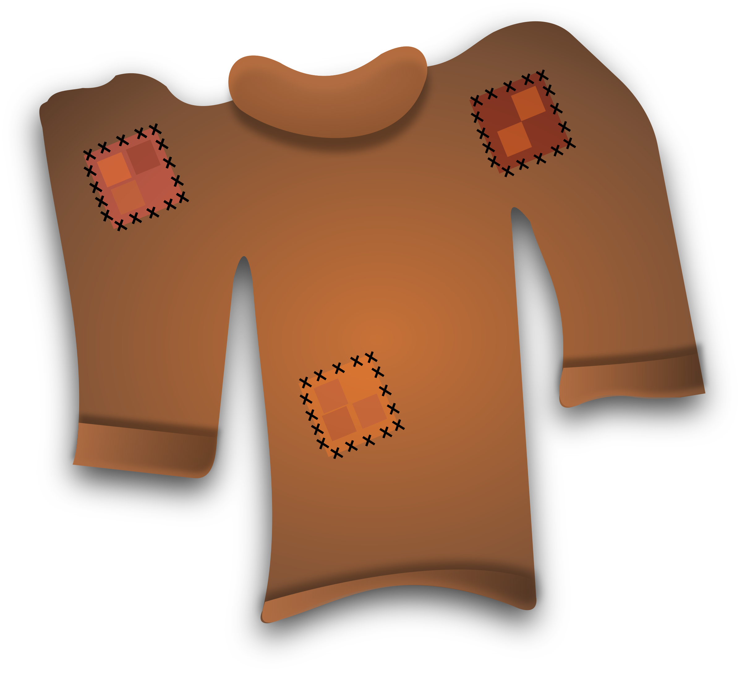 Worn out sweater big. Clipart socks pile