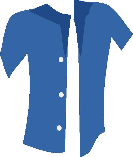 Blue i royalty free. Clipart shirt uniform
