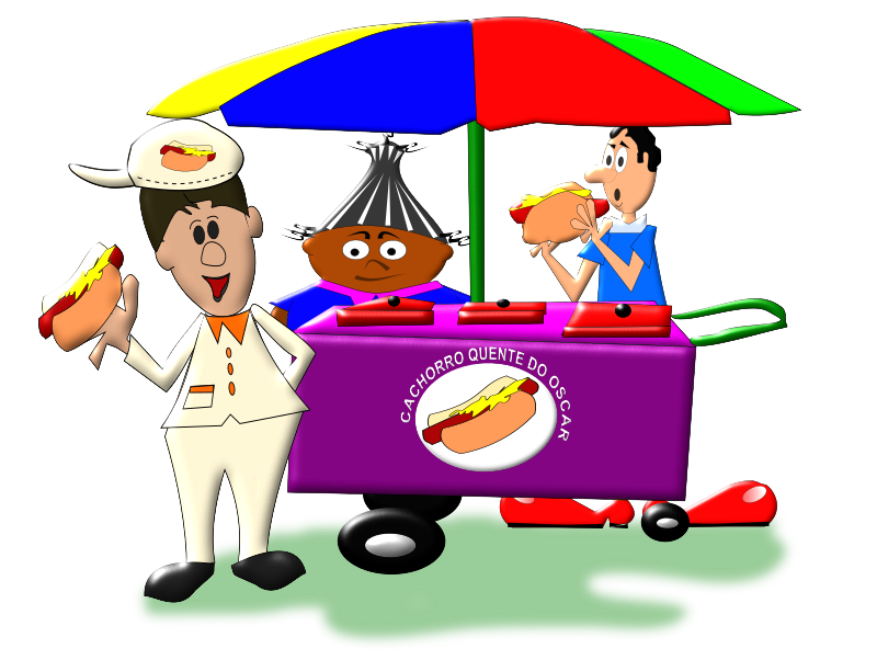 collection of hot. Clown clipart seller