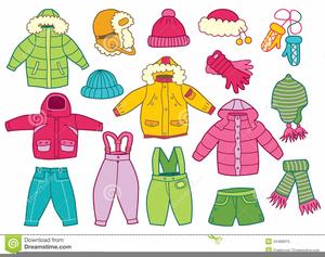 Children winter free images. Clothes clipart clip art