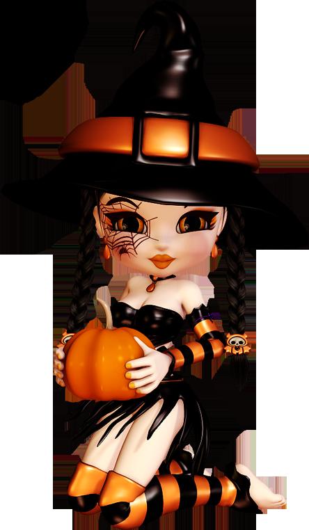 Witch clipart cute. Halloween clip art