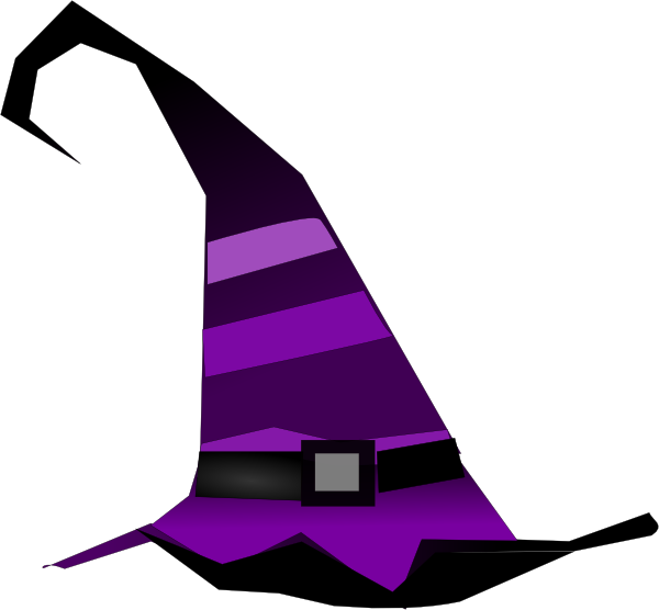 Witch clipart old witch. Hat clip art at