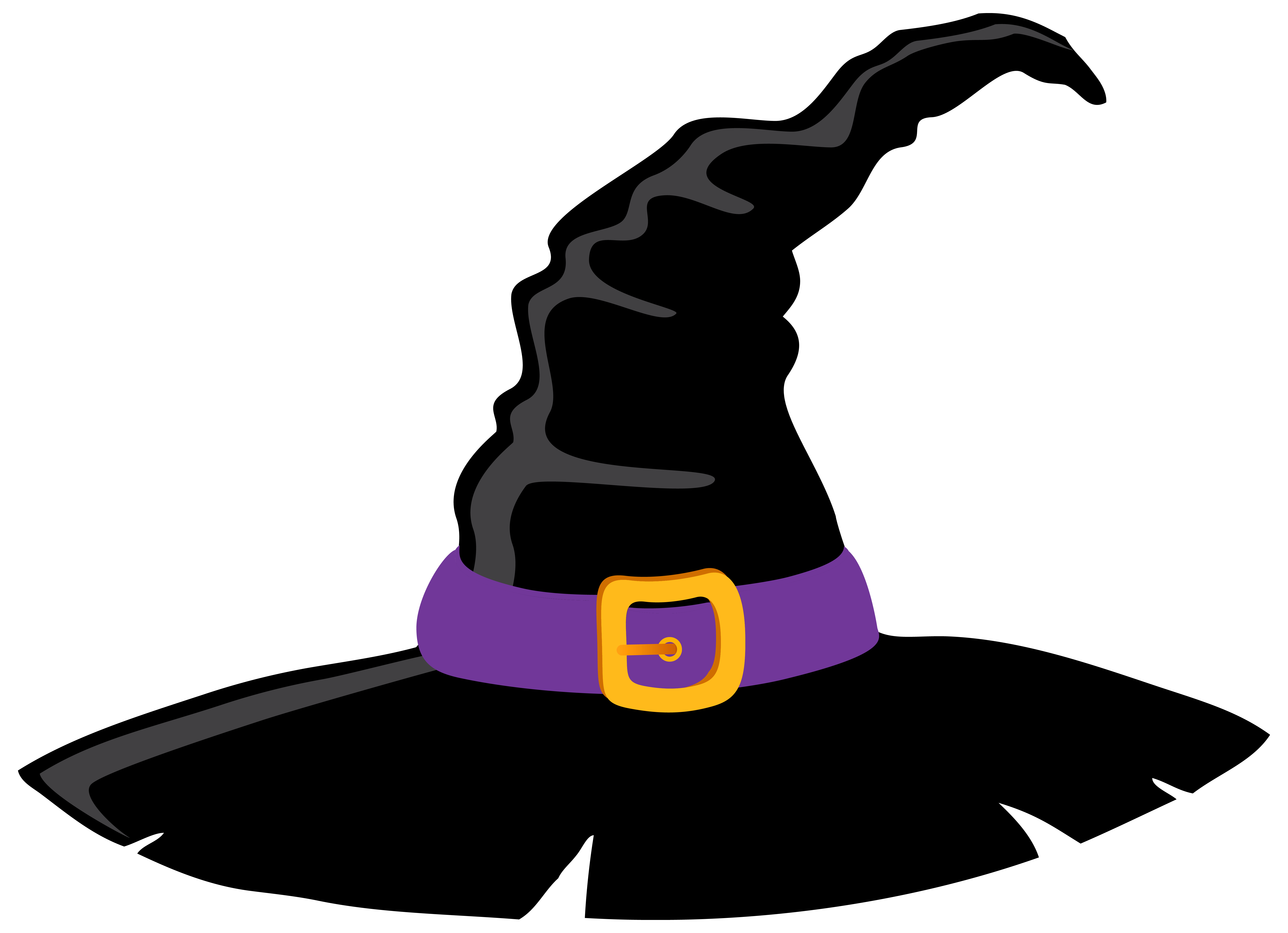 Witch clipart bowl. Hat and purple png