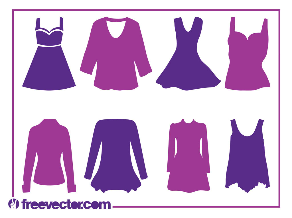 Free women s cliparts. Clipart clothes women's clothing