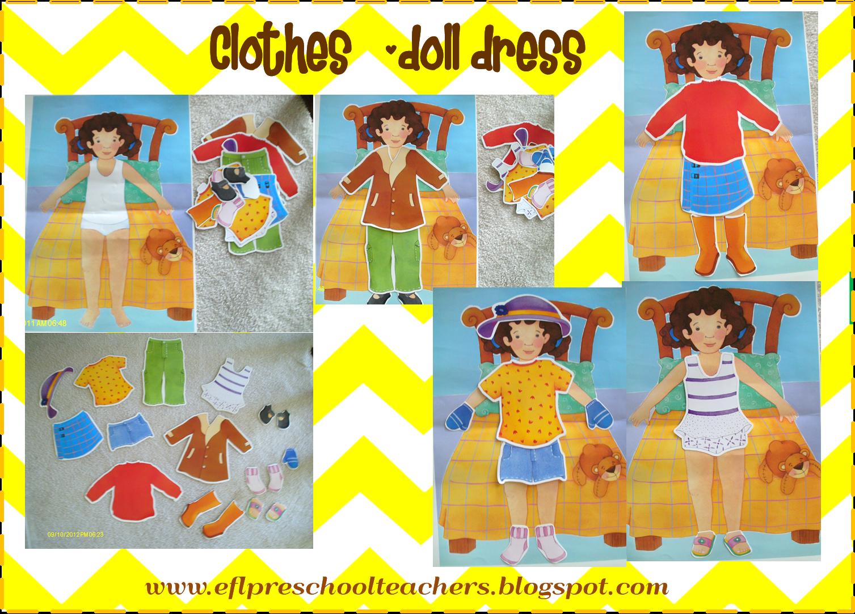 Esl efl preschool teachers. Clothing clipart clothing item