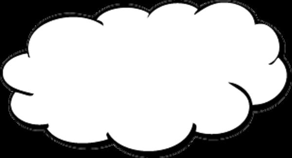 It . Clipart cloud