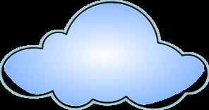 Clipart cloud. White panda free images