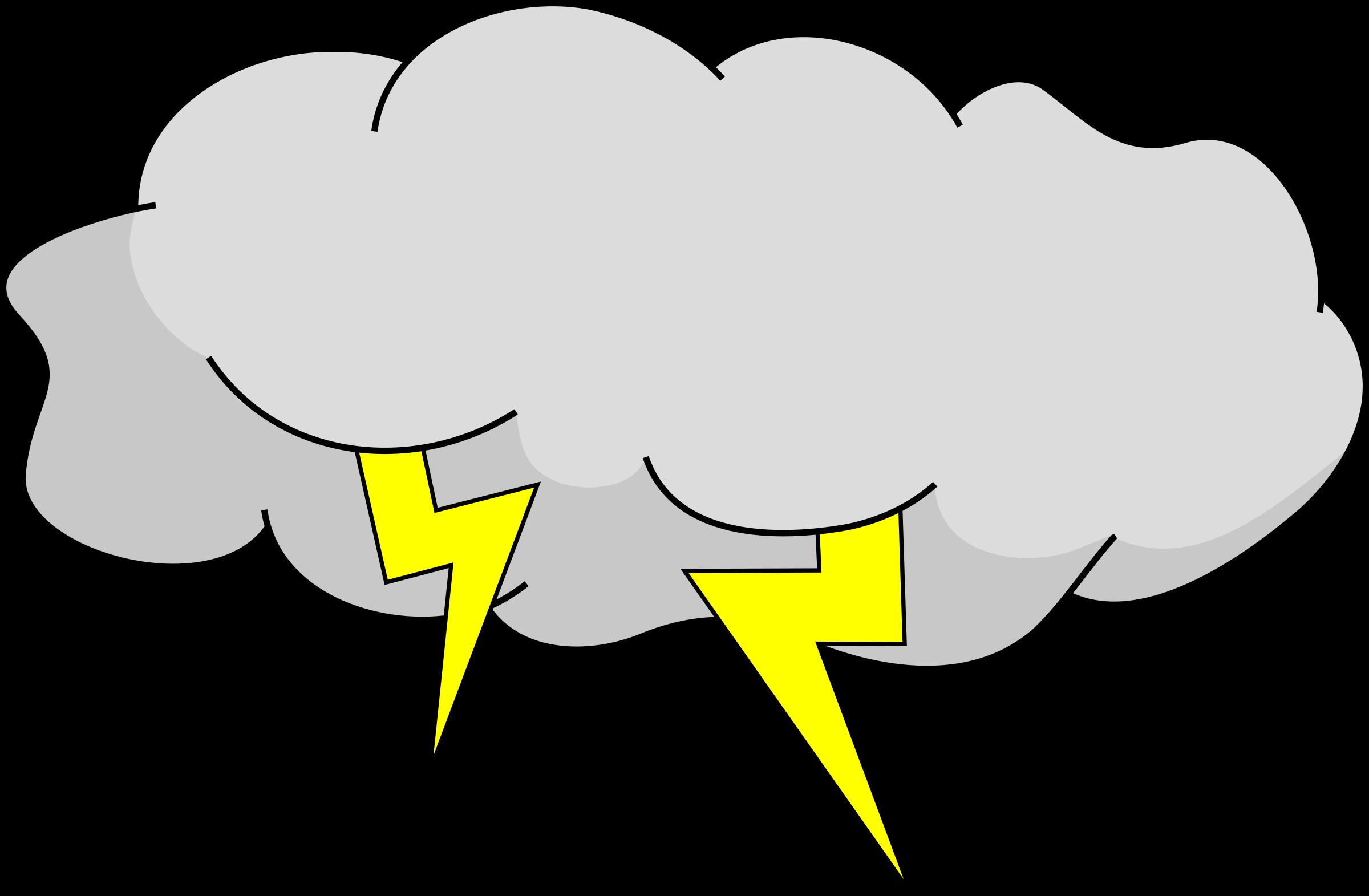 Storm cloud big image. Raindrop clipart thunderstorm