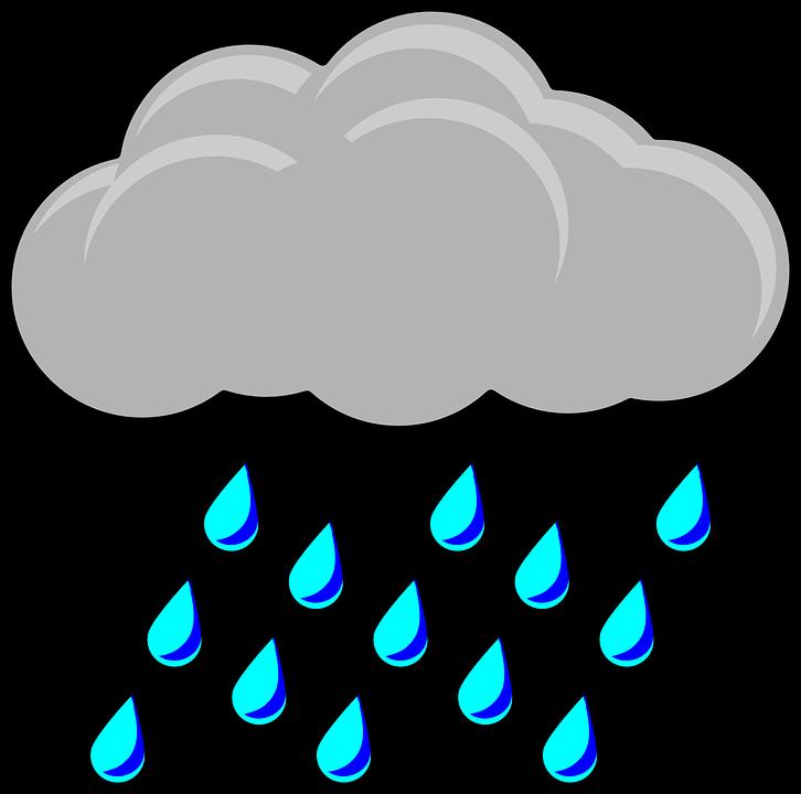 Hurricane clipart stormy season. Cartoon rain cloud shop