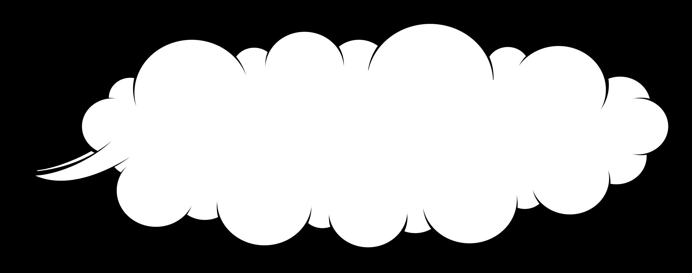 Cloud clipart balloon. Speech big image png
