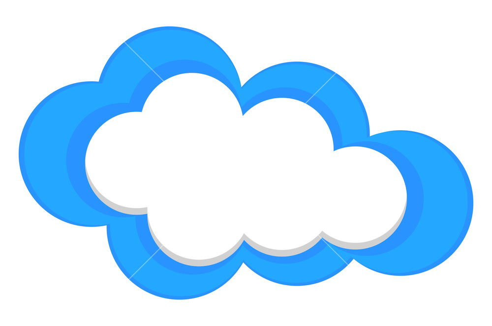 Cloud clip art library. Clouds clipart banner