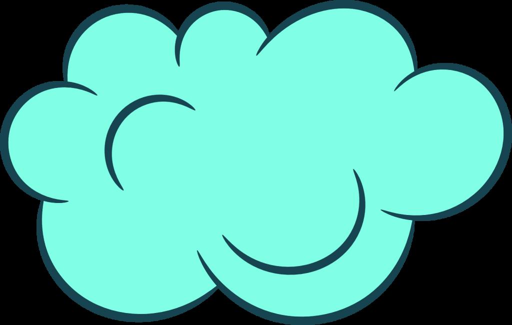 square clipart cloud #144102464