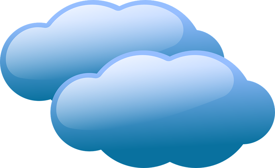 Clouds clipart grey. Banner cliparts shop of