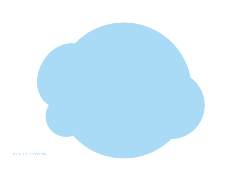 Raster small cloud bunting. Clipart clouds bitmap