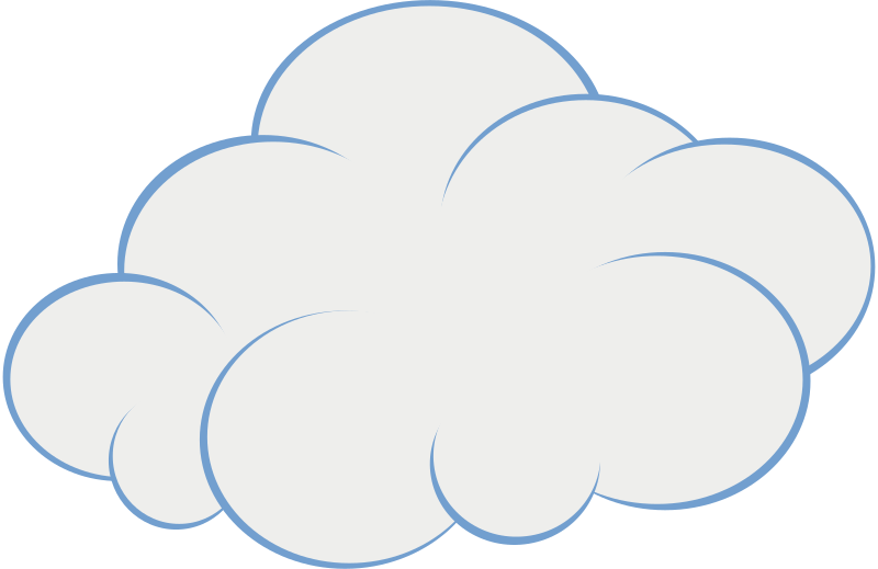 Clouds clipart bmp. Image of cloud clipartoons