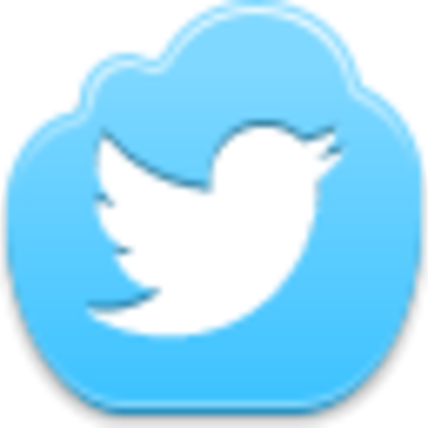 Clipart clouds bmp. Twitter bird icon free