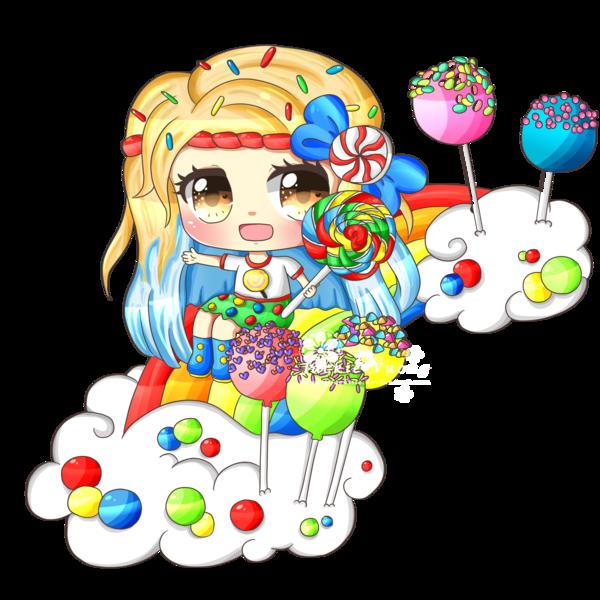 Cloud clipart candy. In by kawaiiijackiiie deviantart