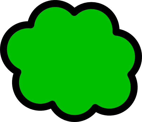 Fart clipart tuba. Green cloud clip art