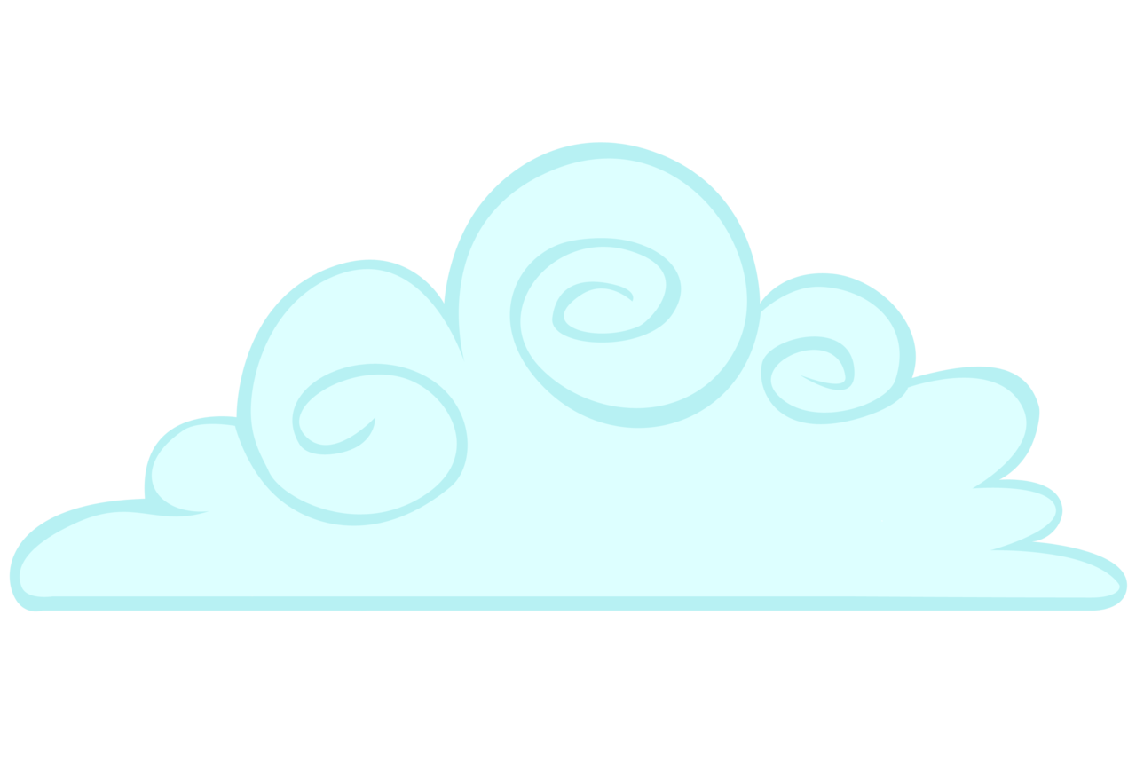 Cloud clear background