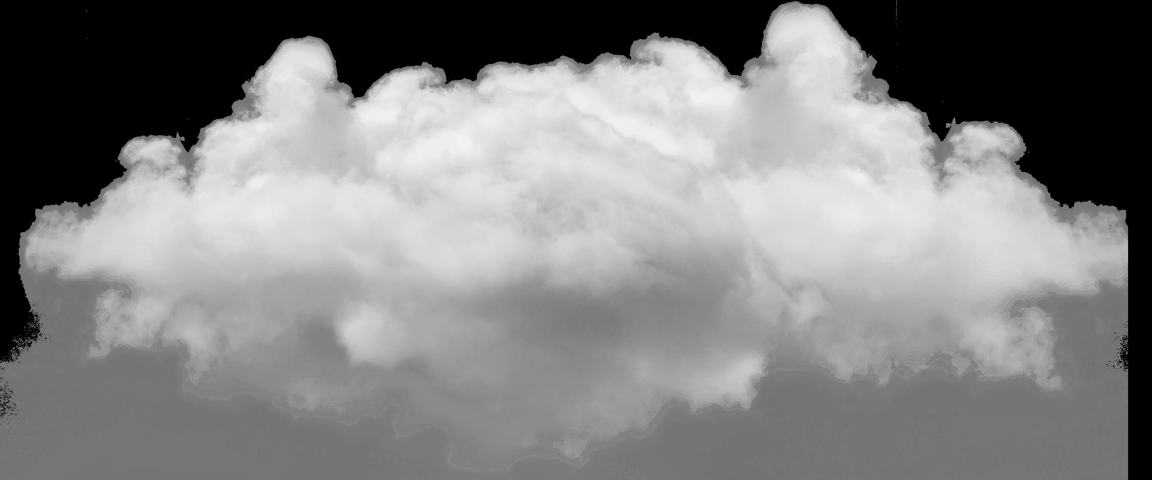 Clouds clipart cumulus cloud. Small single transparent png