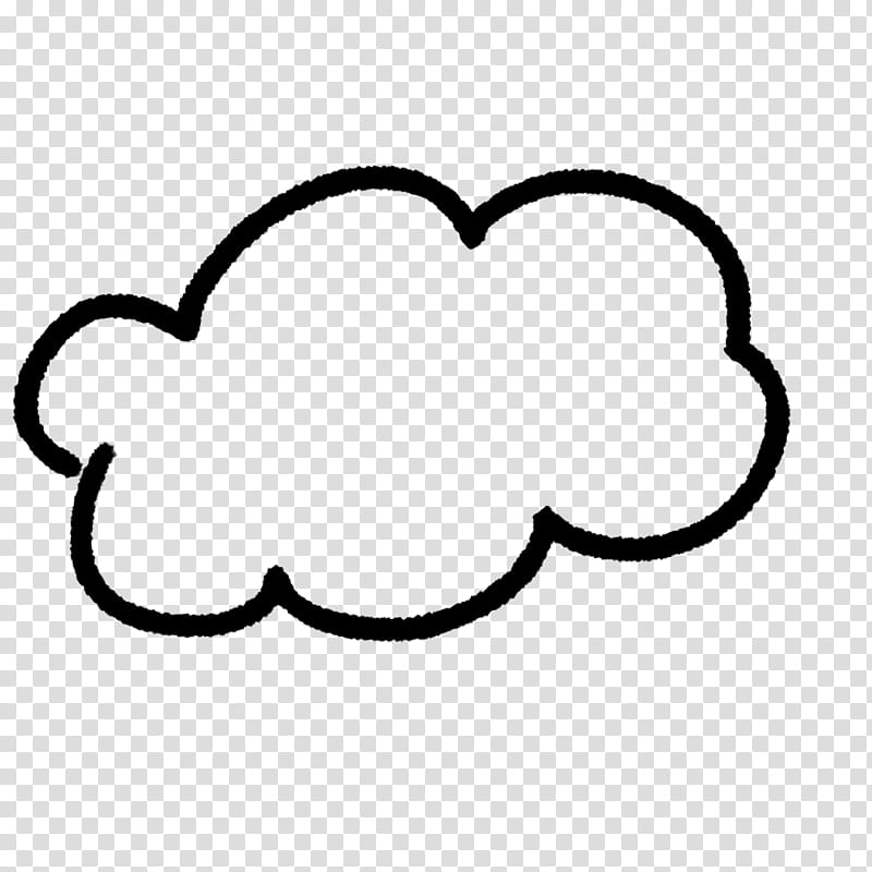 Handwritten doodles and abr. Clipart cloud clear background