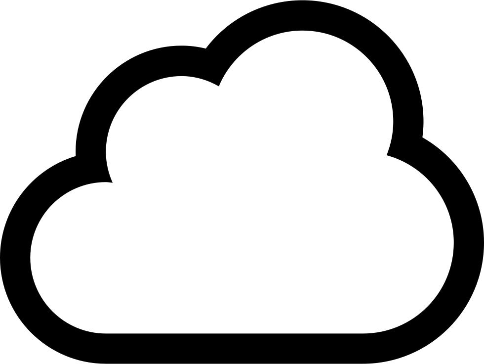 Clouds clipart sketch. Cloud outline drawing at