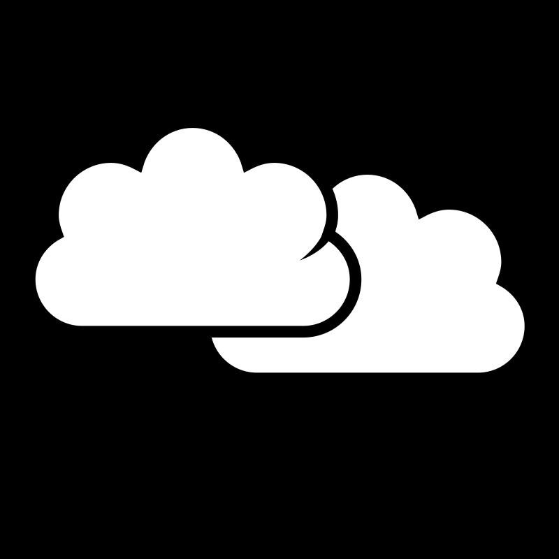 Cloud clipart line art. Rain clouds drawing at