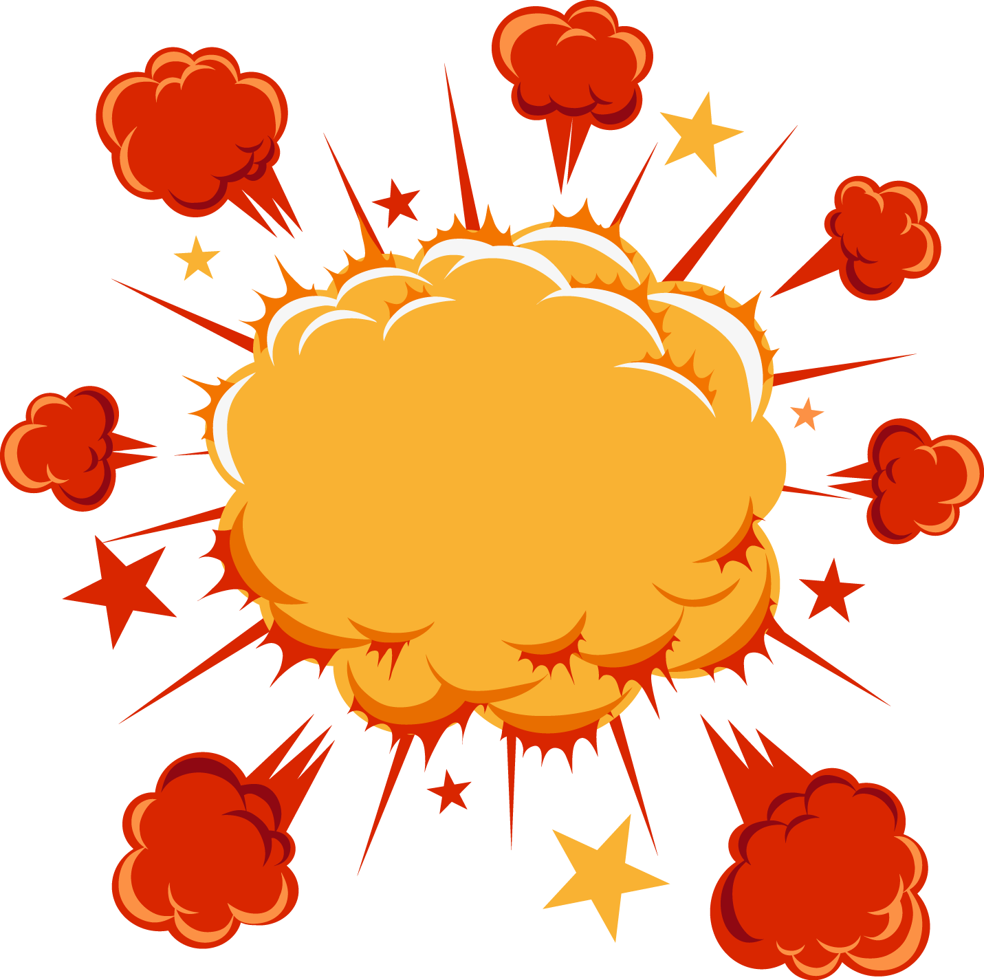 Clipart cloud comic book. Cartoon comics explosion labeled