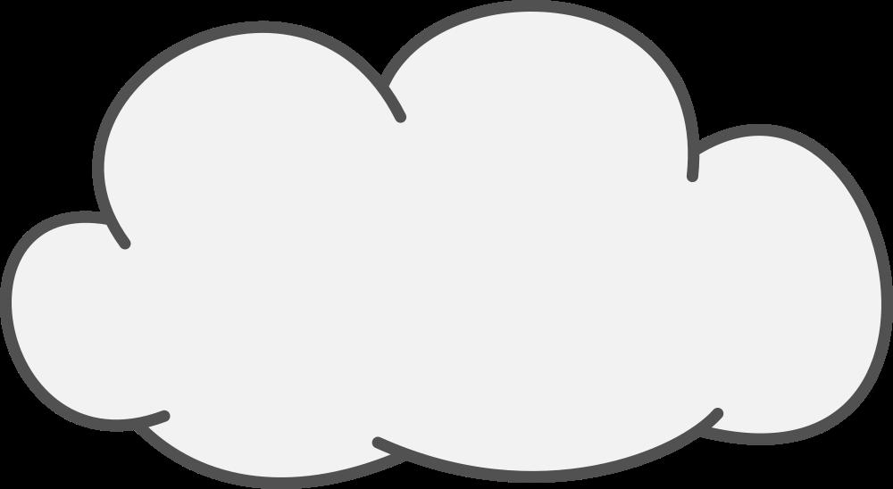 Cloud clipart cumulus cloud. Onlinelabels clip art