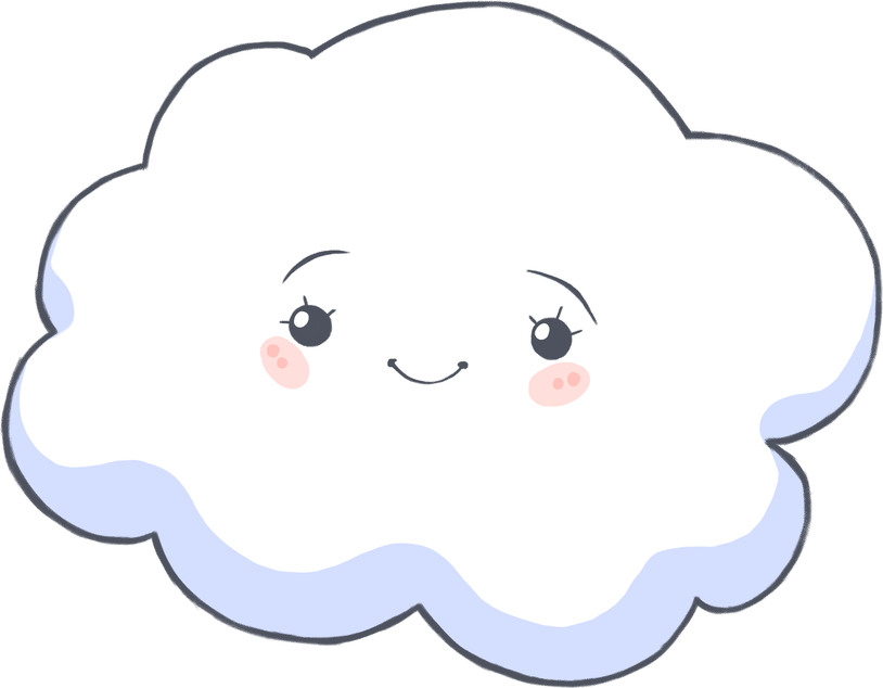 Cloud face