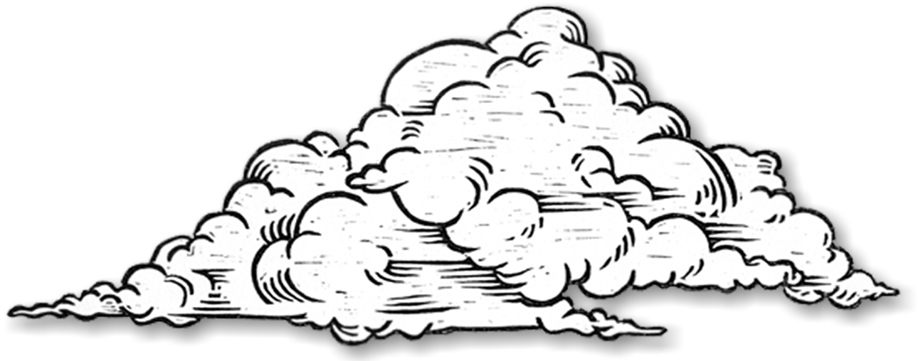 Cloud drawing at getdrawings. Draw clipart sketch