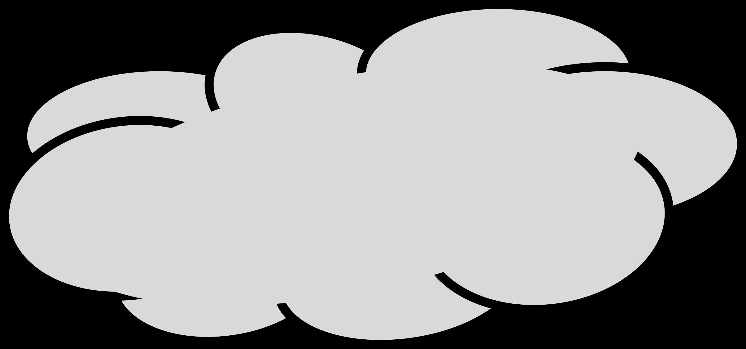 Big image png. Gas clipart grey cloud
