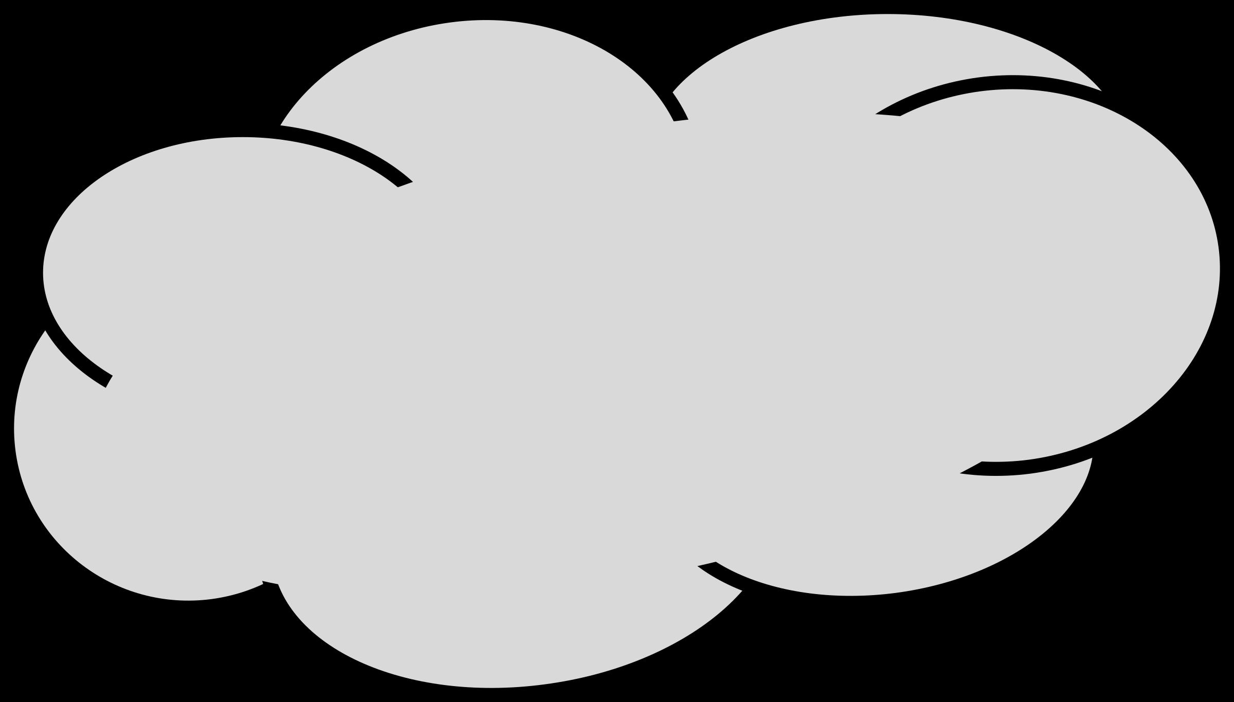 Cloudy clipart lightning cloud. Grey big image png