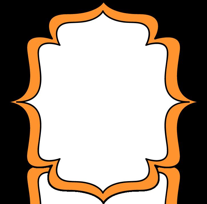 cloud clipart orange